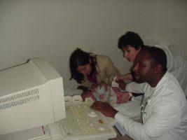 A ecografia no diagnostico de fracturas em crianças.